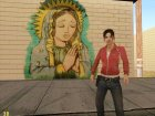 Graffiti GTA V Virgin Mary