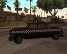Borgnine Cabbie III для GTA San Andreas вид слева