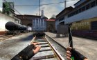 electronic knife fan version for Counter-Strike Source left view