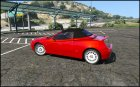 Alfa Romeo Spider 916 1.2 for GTA 5 side view