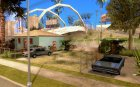 Припаркованый транспорт на Грув Стрит для GTA San Andreas вид слева