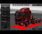 MAN TGS for Euro Truck Simulator 2 top view