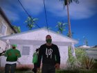 Franklin HD V1 GTA V для GTA San Andreas вид изнутри