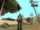 Мод Гравитация для GTA San Andreas вид сзади слева