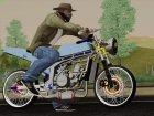 Kawasaki Ninja 150SS Drag Thaistyle for GTA San Andreas right view