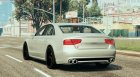 2013 Audi S8 4.0TFSI Quattro V1.8 for GTA 5 rear-left view