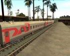 Плацкартный вагон РЖД for GTA San Andreas left view