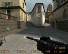 M4A1 из COD для Counter-Strike Source вид сбоку