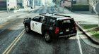 2015 Chevrolet Tahoe LAPD (Unlocked) for GTA 5 left view