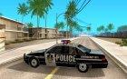Полицейская машина для GTA San Andreas вид слева