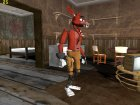 Foxy из Five Nights Att Freddy's для GTA San Andreas вид сзади слева