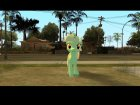Lyra (My Little Pony) для GTA San Andreas вид сзади слева