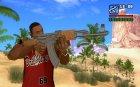 AK-47 для GTA San Andreas вид сзади слева