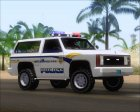 Police Ranger Metropolitan Police for GTA San Andreas left view