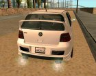 Volkswagen Golf R32 for GTA San Andreas top view