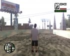 Бандит в маске for GTA San Andreas rear-left view