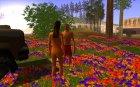 Вечеринка на природе для GTA San Andreas вид сзади