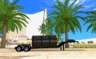 Custom trailer, Peterbilt 378
