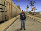 Толстовка Лос-Сантос для GTA San Andreas вид слева