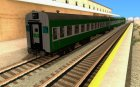 THE GO Transit Train for GTA San Andreas rear-left view