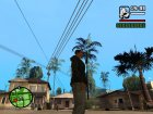 "Ветровка  ""Анархиста"" для GTA San Andreas вид слева"
