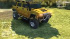 Hummer H2 SUT for Spintires DEMO 2013 inside view