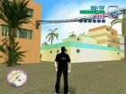Смерть с косой for GTA Vice City left view