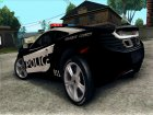 McLaren MP4-12C Police Car for GTA San Andreas top view