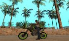 Kawasaki KX 125 for GTA San Andreas left view