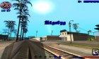Зимний hud 3.0 для GTA San Andreas вид сверху
