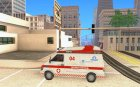 "Скорая Помощь ""04"" из Modern Warfare 2 для GTA San Andreas вид слева"