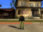 Claude Original from GTA 3 для GTA San Andreas вид слева