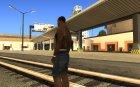 Black Wallstreet Tattoo для GTA San Andreas вид сзади слева