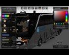 Skin's Setra S517 для Euro Truck Simulator 2 вид сзади слева