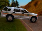 2002 Ford Explorer Bone County Sheriff's Office для GTA San Andreas вид сверху