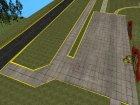 Обновленный аэродром for GTA San Andreas top view