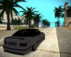 BMW M3 E36 for GTA San Andreas rear-left view