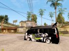 Nissan Urvan NV350 Monster Energy для GTA San Andreas вид слева