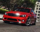 Mercedes-Benz C63 AMG W204 2011 v1.4 for GTA 5 side view