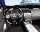 Mitsubishi Pajero Sport Dakar Offroad Version 2014 for GTA San Andreas inside view