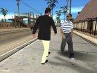 Skin GTA V Online в гриме v2 for GTA San Andreas rear-left view