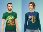 ElfQuest Tops Set for Sims 4 rear-left view
