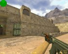 AK 47 Ретекстур для Counter-Strike 1.6 вид изнутри