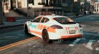 Porsche Panamera Swiss - GE Police for GTA 5 left view