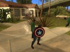 Captain America shield v1 для GTA San Andreas вид слева