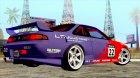 Nissan Silvia S14 KS 1994 for GTA San Andreas left view