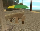 New Santa Maria beach for GTA San Andreas rear-left view