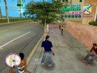 Повседневная одежда(Тёмно синий) for GTA Vice City rear-left view