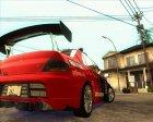 Mitsubishi Lancer Evolution IX Tunable for GTA San Andreas top view