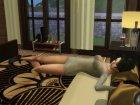 Goodnight Animation Pack для Sims 4 вид сзади